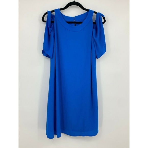 Chico's Dresses & Skirts - chicos small dress tunic cold shoulder keyhole